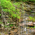 Waterfall On The Way To Thurmond by Paulette B Wright