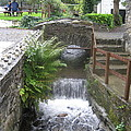 Waterfall Outside The Fish Place In Ballykissangel by Dotti Hannum