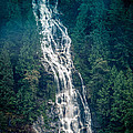 Waterfall Princess Louisa Inlet by Mike Penney