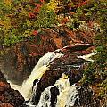 Waterfall Quebec 2 by Michael Cummings