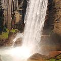 Waterfall Rainbow by Mary Carol Story