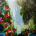 Waterfall by Suzanne Thomas