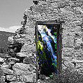 Waterfall Through The Magic Door by Greg Wells