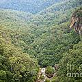Waterfall Valley by Tim Hester