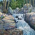 Waterfall by Wanda Coffey