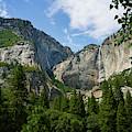 Waterfall, Yosemite Valley, Yosemite by Daniel Alexander