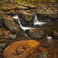 Waterfalls And Swirl by Susan Candelario