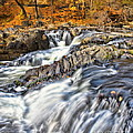 Waterfalls At Fishkill Creek by Harold Bonacquist