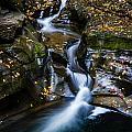 Waterfalls At Watkins Glen by Kaye Seaboch