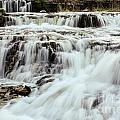 Waterfalls Flowing by Terri Morris