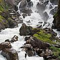 waterfalls in Pre Saint Didier by Antonio Scarpi