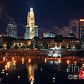 Waterfire Providence by Bill Cobb