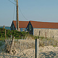 Waterfront Beach Cottages by Phyllis Tarlow