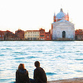 Waterfront Church Venice by Paul Bucknall