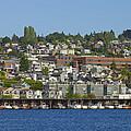 Waterfront Living On Lake Union by David Gn