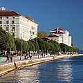 Waterfront Promenade In Zadar by Artur Bogacki