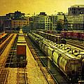 Waterfront Rail Yard by Claude LeTien