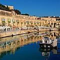 Reflect In Valletta Malta by David Coleman