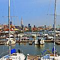 Waterfront View Hoboken by Regina Geoghan