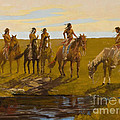 Watering Hole by Ray Mitchell