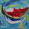 Watermelon. by Agnieszka Praxmayer