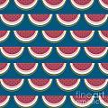 Watermelon Pattern by Richard Laschon