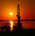 Waterpump In The Sunrise by Jeff Swan
