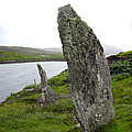 Waters Edge Stones At Bernera by Denise Mazzocco