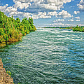 Waters Feeding Niagara Falls by LeeAnn McLaneGoetz McLaneGoetzStudioLLCcom