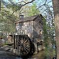 Waterwheel At Stone Mountain by Gordon Elwell