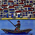 Watery Venice by Barbara St Jean