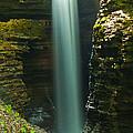 Watkins Glen Bridal Veil by Steve Clough