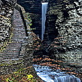 Watkins Glen Central Cascade by Frozen in Time Fine Art Photography