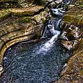 Watkins Glen Stream by Anthony Sacco