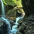 Watkins Glen Waterfalls by Adam Jewell