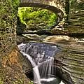 Watkins Glen Waterfalls by Anthony Sacco