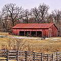Watkins Mill Barn by Alan Hutchins