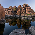 Watson Lake Arizona Reflections by Dave Dilli
