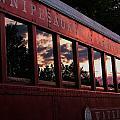 Waukewan Train by Jeff Heimlich