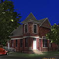 Waurika Presbyterian Church by Curtis Plant