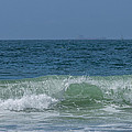 Wave At Seal Beach by Ernie Echols