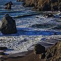Wave Breaking On Rock by Garry Gay