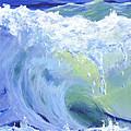 Wave Crest by Donna Tucker