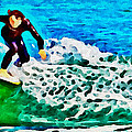 Wave Surfer by Alice Gipson