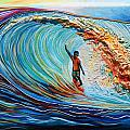 Wave Surfer by Kate Fortin