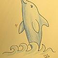 Wave The Suzuki Dolphin by Sheri Lauren Schmidt