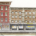 Waverly Diner In Greenwich Village by AFineLyne