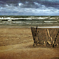 Waves And Clouds  by Michelle Calkins