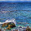 Waves And Splashes by Nancy Marie Ricketts