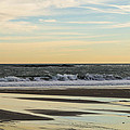 Waves At Old Orchard by Andrew Dimmitt